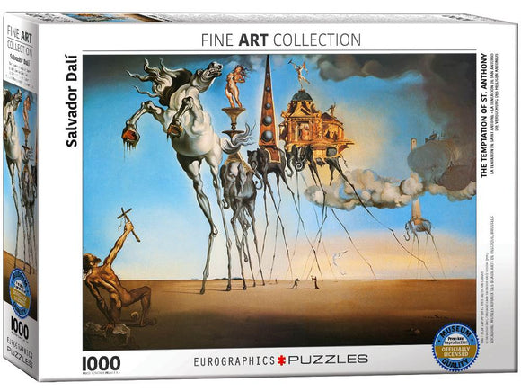 1000pc Jigsaw Puzzle Eurographics Salvador Dali The Temptation of St. Anthony