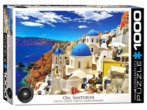 1000pc Jigsaw Puzzle Eurographics Oia Santorini Greece
