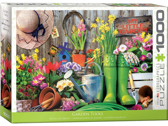 1000pc Jigsaw Puzzle Eurographics Garden Tools