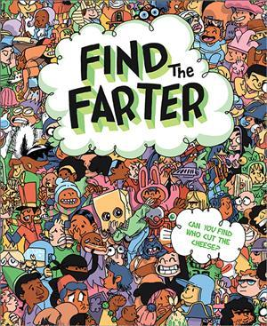 Find The Farter Hardcover Book