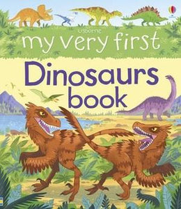 My Very First Dinosaurs Book Usborne Hardcover Book
