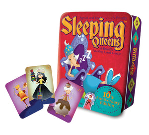 Sleeping Queens in Tin Card Game
