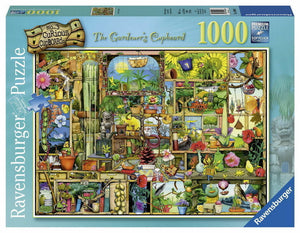 1000pc Jigsaw Puzzle Ravensburger The Gardeners Cupboard