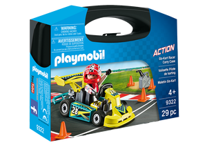 Playmobil Action Go-Kart Racer Carry Case
