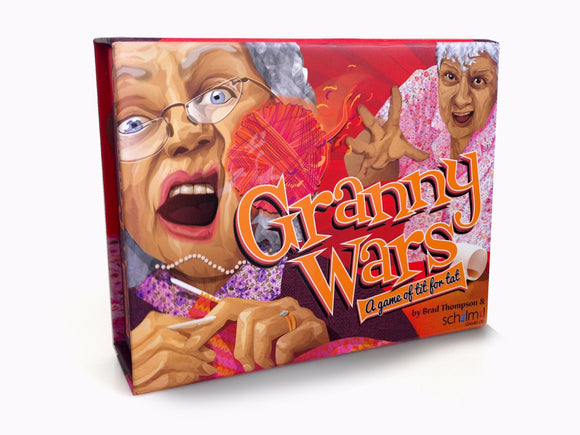 Granny Wars Strategy Card Game