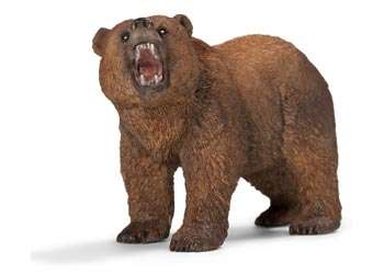 Bear Grizzly Male Schleich Figurine