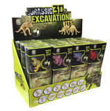 Dinosaur Excavation Kit with 3D Skeleton Assorted Designs Mini Science Kit