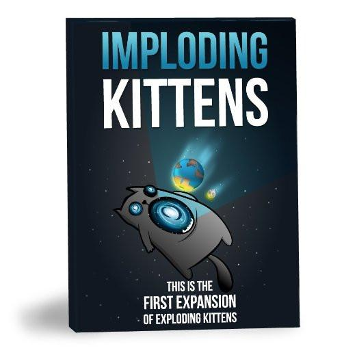 Imploding Kittens First Expansion Card Game