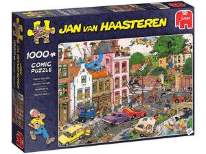 1000pc Jigsaw Puzzle Jumbo JVH Jan Van Haasteren Friday The 13th