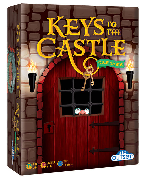Keys To The Castle Tile Game Outselt Strategy and Luck Tabletop Game