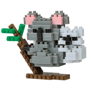 Nano Block Koala with Joey