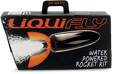 Liquifly Water Powered Rocket Deluxe Kit