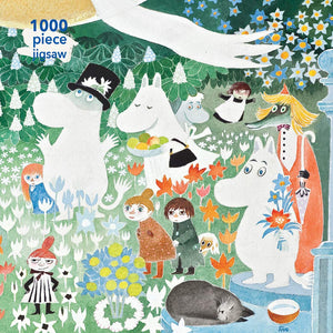 1000pc Jigsaw Puzzle Moomin The Dangerous Journey