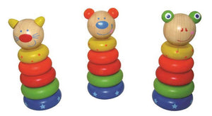 Stacking Wooden Animals