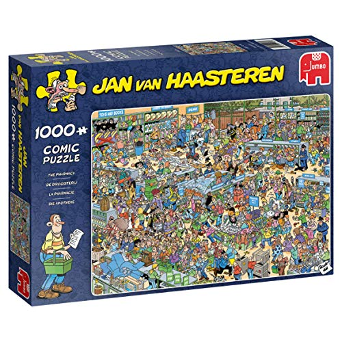 1000pc Jigsaw Puzzle Jumbo JVH Jan Van Haasteren The Pharmacy