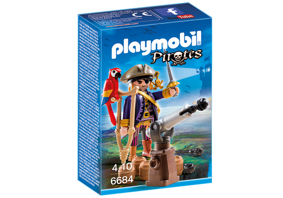Playmobil Figurine Pirate Captain