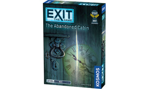Exit the Game The Abandoned Cabin Strategy Board Game