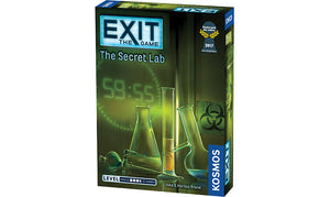 Exit the Game The Secret Lab Strategy Board Game