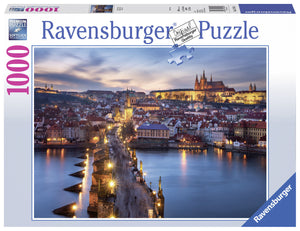1000pc Jigsaw Puzzle Ravensburger Prague At Night