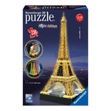 216pc 3D Jigsaw Puzzle Ravensburger Eiffel Tower At Night
