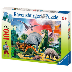 100pc Jigsaw Puzzle Ravensburger Among The Dinosaurs