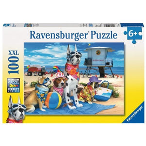 100pc Jigsaw Puzzle Ravensburger No Dogs On Beach
