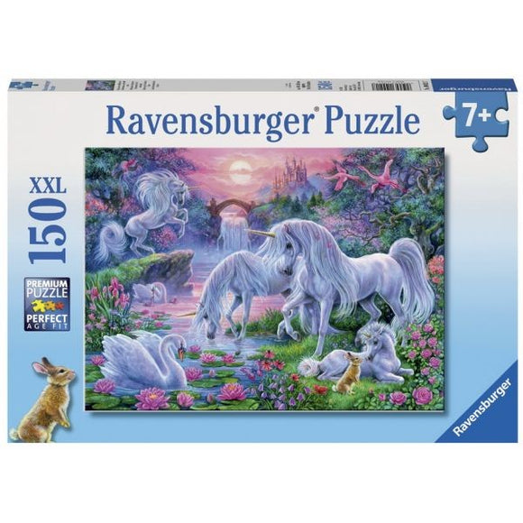 150pc Jigsaw Puzzle Ravensburger Unicorns At Sunset