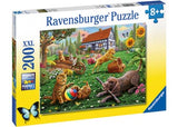 200pc Jigsaw Puzzle Ravensburger Playing In The Yard