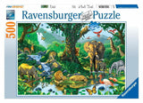500pc Jigsaw Puzzle Ravensburger Harmony In The Jungle