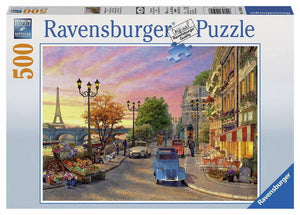 500pc Jigsaw Puzzle Ravensburger A Paris Evening