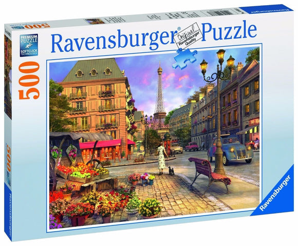 500pc Jigsaw Puzzle Ravensburger Streets Of Paris