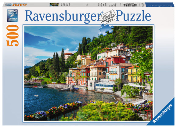 500pc Jigsaw Puzzle Ravensburger Lake Como Italy