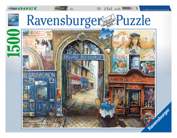 1500pc Jigsaw Puzzle Ravensburger Passage To Paris