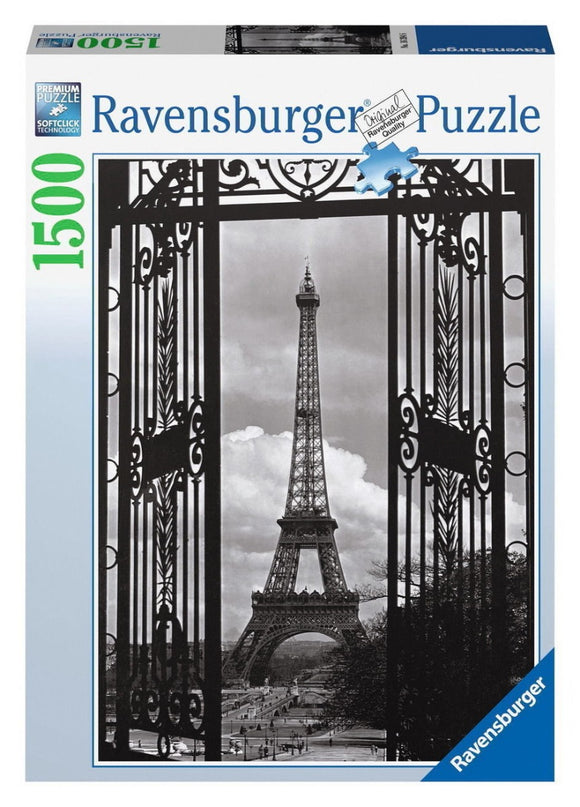 1500pc Jigsaw Puzzle Ravensburger In Paris Black And White