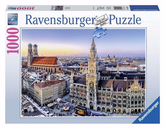 1000pc Jigsaw Puzzle Ravensburger Beautiful Germany Munich