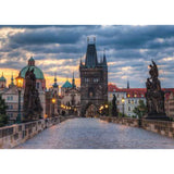 1000pc Jigsaw Puzzle Ravensburger Charles Bridge Prague
