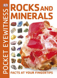 Rocks And Minerals Pocket Eyewitness Mini Guide Softcover Book