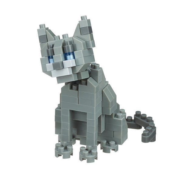 Nano Block Russian Blue Cat