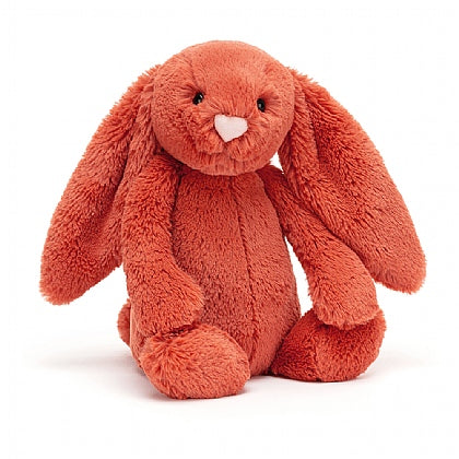 Plush Jellycat Bunny Bashful Cinnamon Rust Small