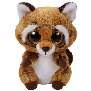 Beanie Boo Racoon Brown Rusty