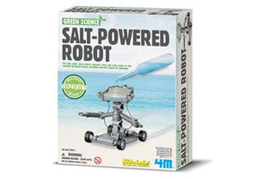 Green Science Salt Water Powered Robot STEAM by 4M Science Kit