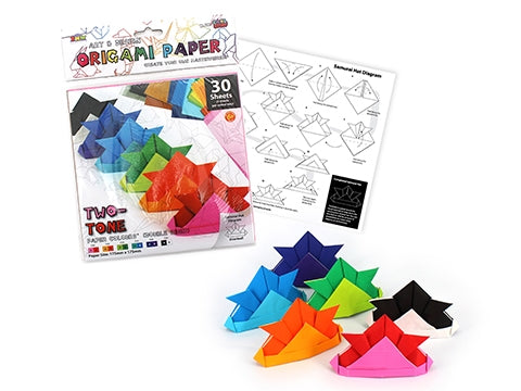 Origami Paper Two-Tone 30 Sheets