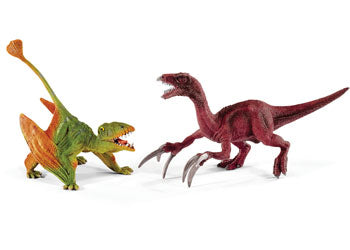 Dimorphodon And Therizinosaurus Dinosaur Schleich Figurine