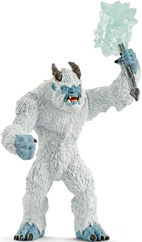 Ice Monster with Weapon Schleich Figurine