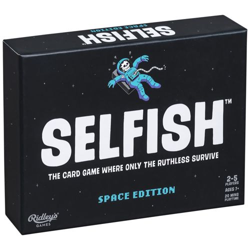 Selfish Space Edition Card Game