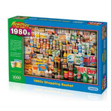 1000pc Jigsaw Puzzle Gibsons 1980s Shopping Basket
