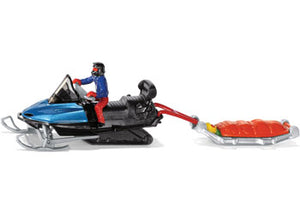 Siku Snowmobile With Rescue Sled 1684