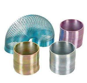 Slinky Mini Metal Assorted Colours