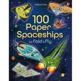100 Paper Spaceships To Fold And Fly Softcover Book