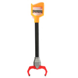 Robot Hand Grabber Orange With Red Claw 50cm